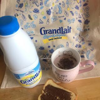 bouteille de lait Grandlait léger & digeste Candia