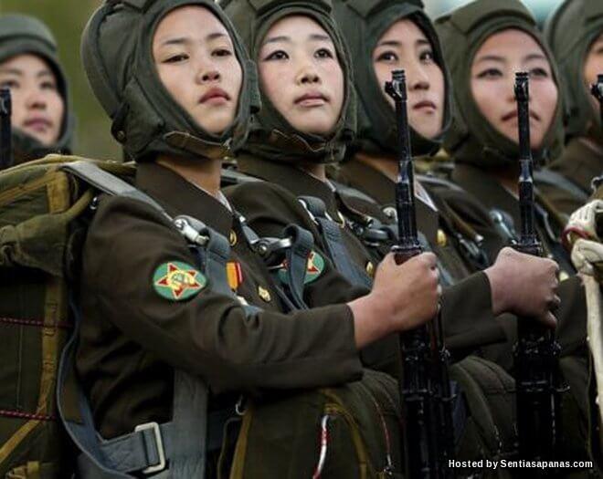 Wanita Dinodai Perkara Biasa Dalam Tentera Korea Utara