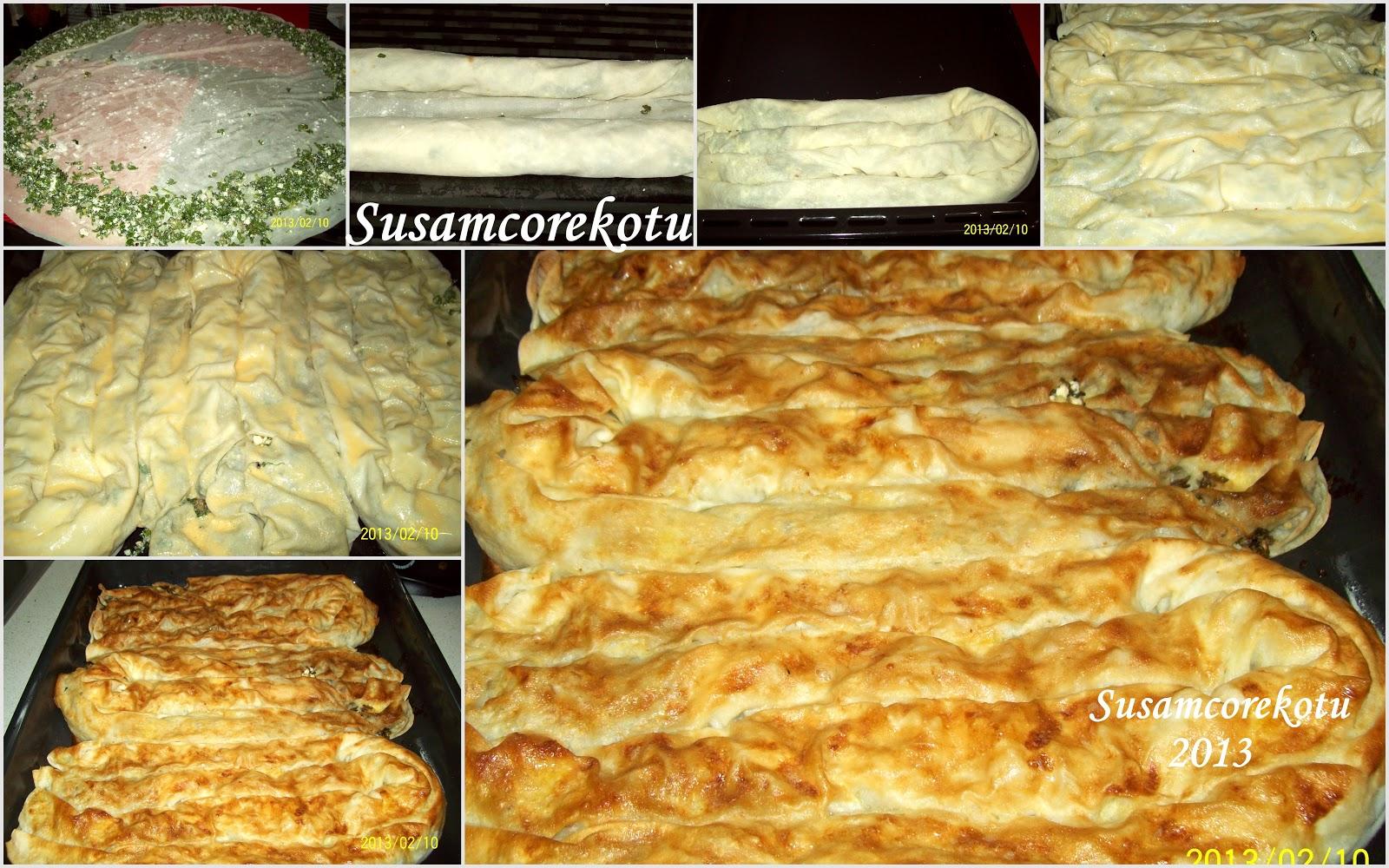 Peynirli Otlu Börek