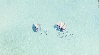 15 bãi biển đẹp mê mẩn nhìn từ trên cao - Ảnh 2