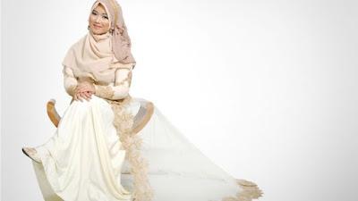 Gaun pengantin Muslim modern