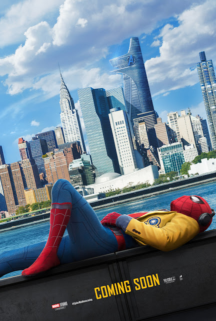 Spider-Man: Homecoming Manhattan Skyline
