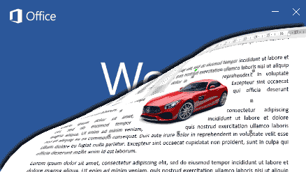 Cara Mengatur Posisi Objek dengan Wrap Text Word 2016