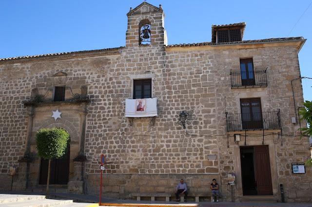 Iglesia de Santa María de Sabiote en Jaén, Andalucía (España)