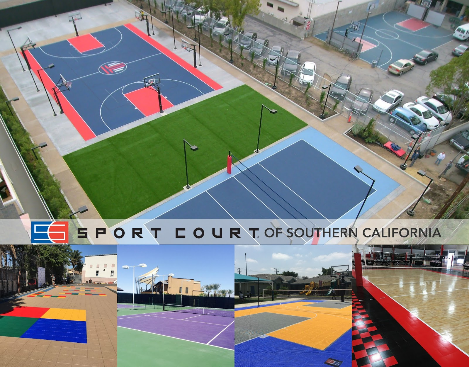 What Was Previously An Unused E Next To The High School Is Now A Performance Sport Court Sports