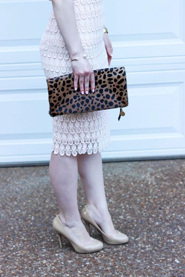 Ann Taylor Pineapple Lace Pencil Skirt