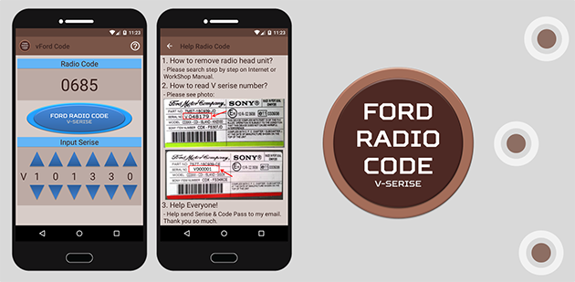 Ford Radio Code V >> Ford Radio Security Code V Series Obdhightech Automotive Apps