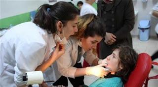 Engelli çocukların yüzünü güldürenler: Seyyar diş perileri