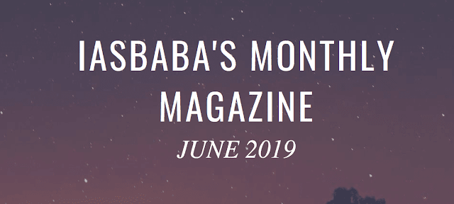 IASbaba Current Affairs June 2019 - Download pdf - VISION