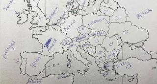 Έδωσαν σε Αμερικανούς να συμπληρώσουν τον χάρτη της Ευρώπης. Δείτε τα αποτελέσματα...
