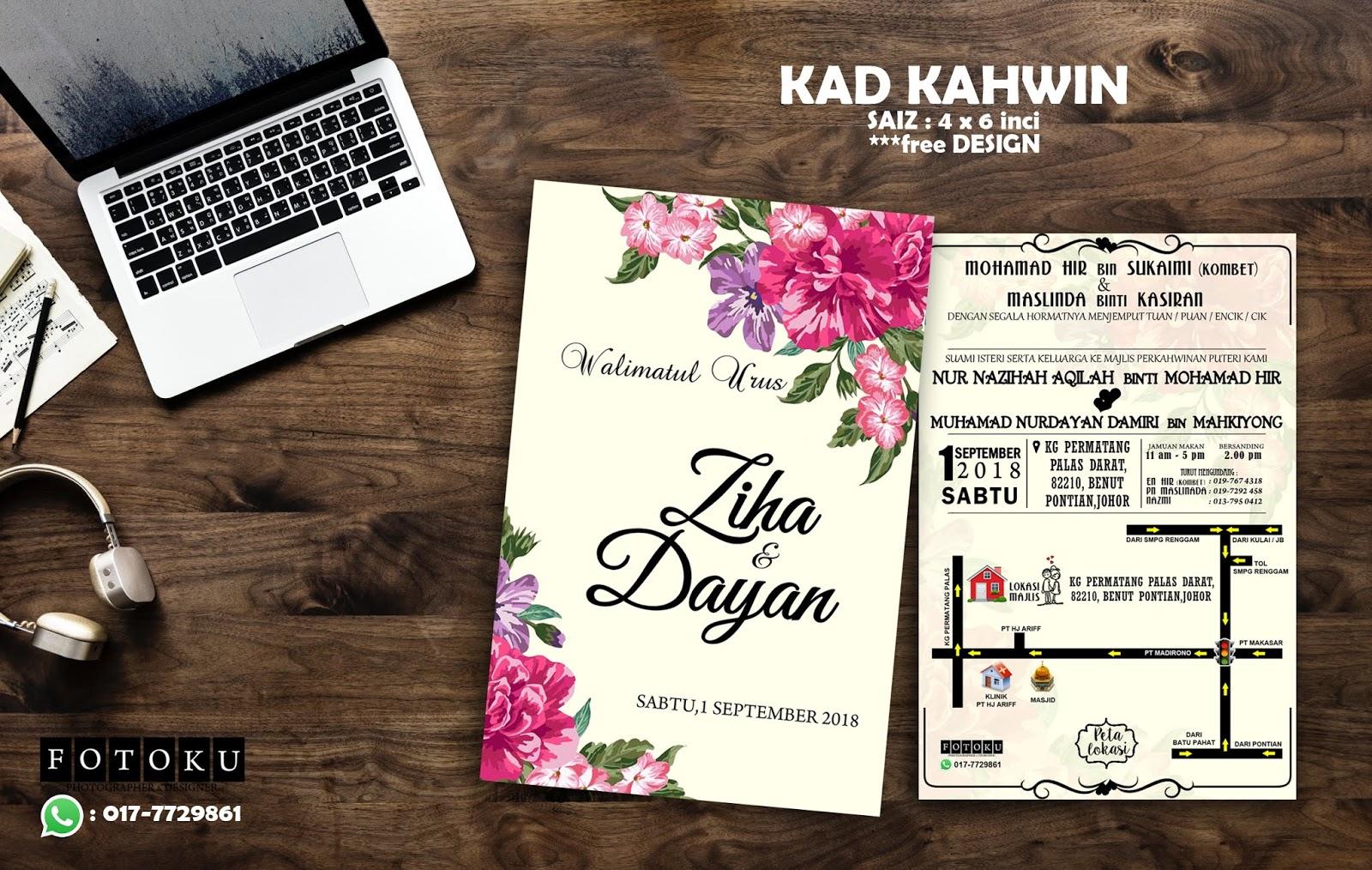 Mrs Wawa Ashihara Servis Photographer Design Printing Murah Di Johor