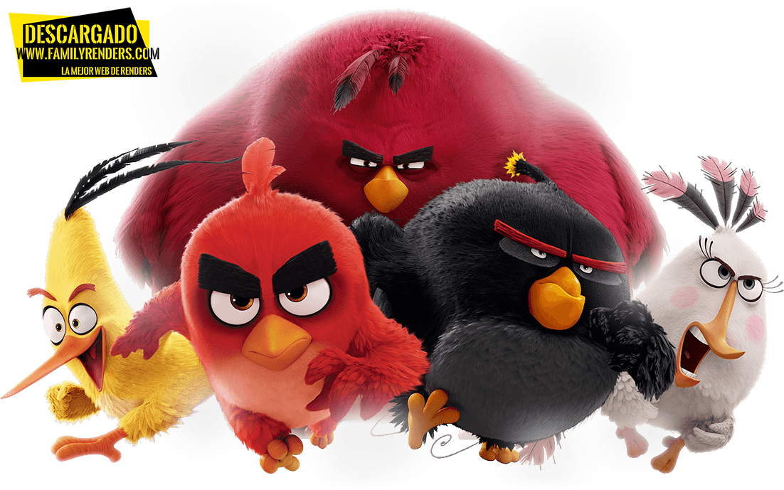 RENDER ANGRY BIRDS