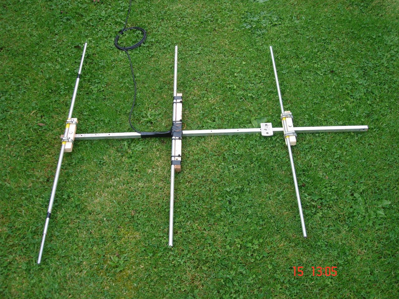 how to build a uhf ham yagi antenna