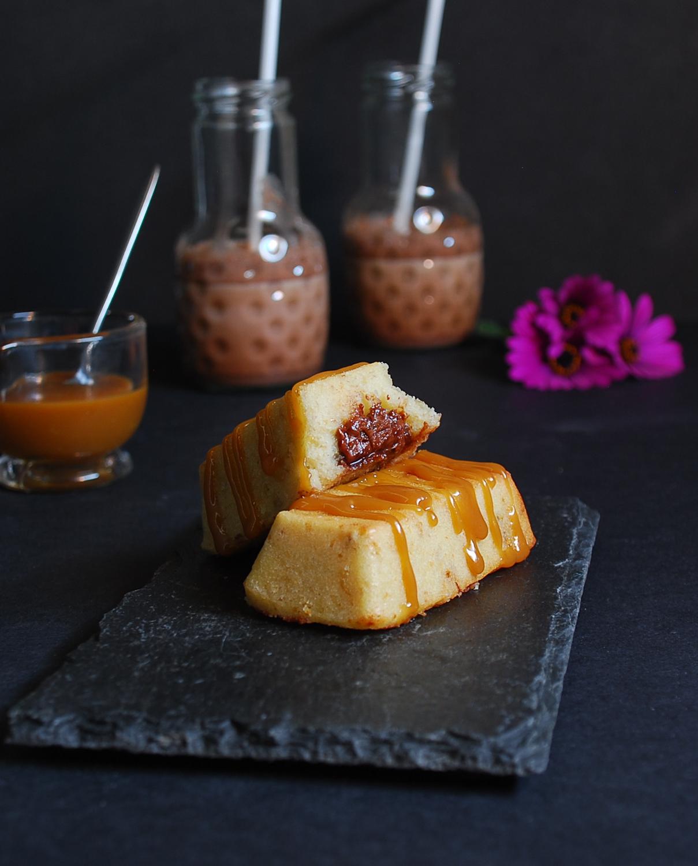 Bizcochos de plátano y Nutella