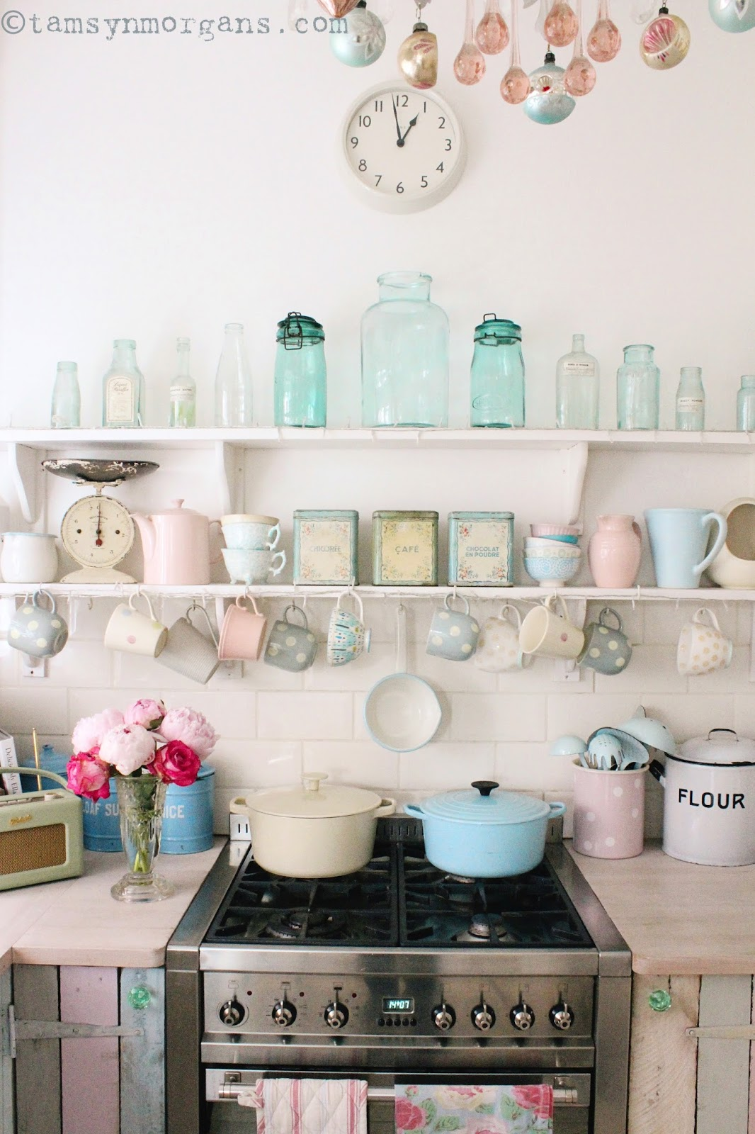 My Pastel Kitchen