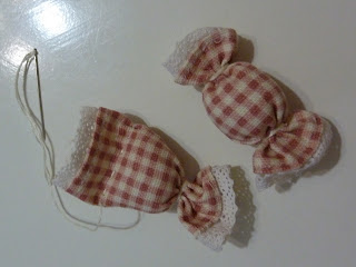 peaches and bees candy hair accessories for baby momo