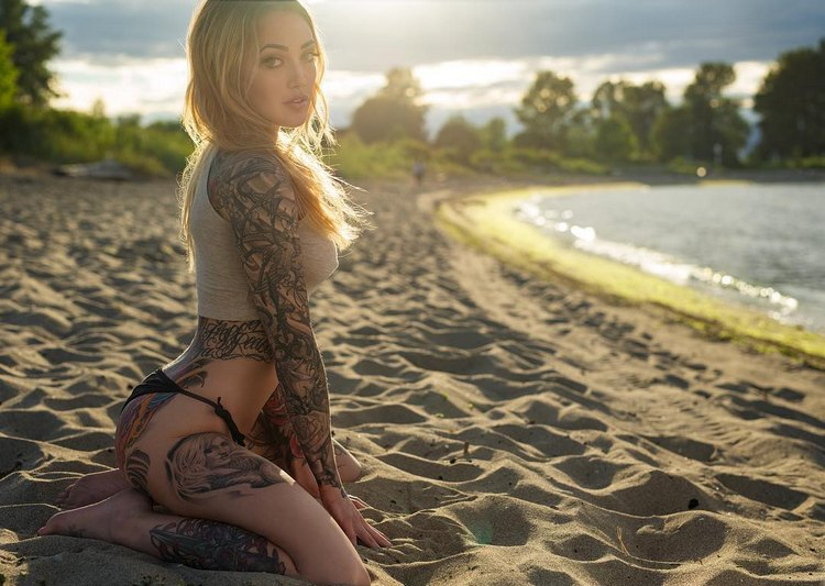 tattoo models ashley nicole castaner   tattoos and
