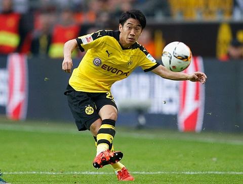 Tiền vệ tấn công Shinji Kagawa