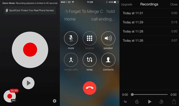 comment enregistrer appel telephonique iphone