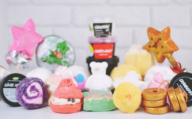 Lush Christmas 2015 Review
