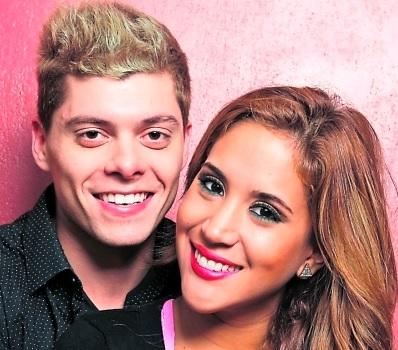 Foto de Ignacio Baladán muy feliz con Melissa Paredes