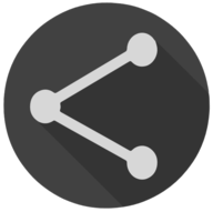 share blackout icon
