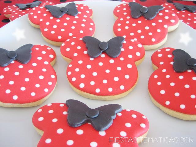 galletas decoradas minnie mouse