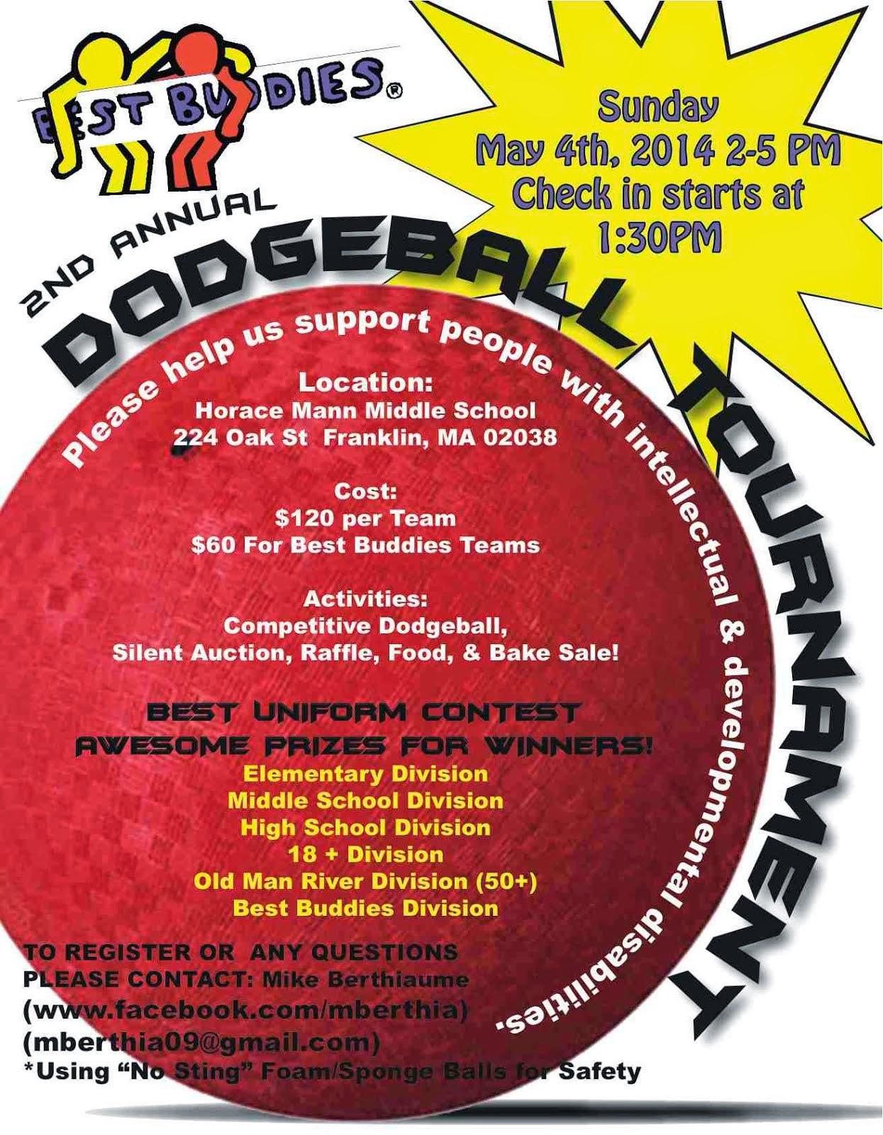 Franklin Matters Best Buddies Dodgeball Tournament