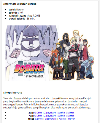 Cara Membuat Web/Blog Download Anime Samehadaku.tv