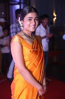 Shalini Pandey in Beautiful Orange Saree Sleeveless Blouse Choli ~  Exclusive Celebrities Galleries 023.JPG