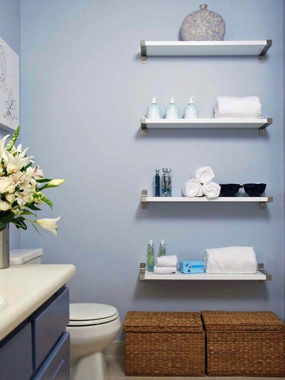 Creative Storage Solutions for Small Bathrooms picture