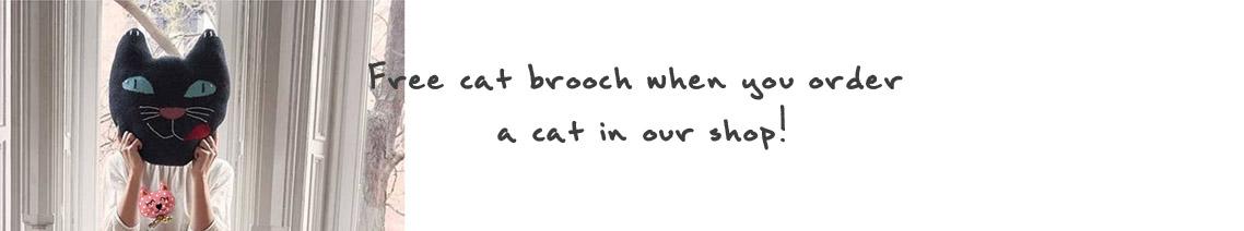free cat brooch