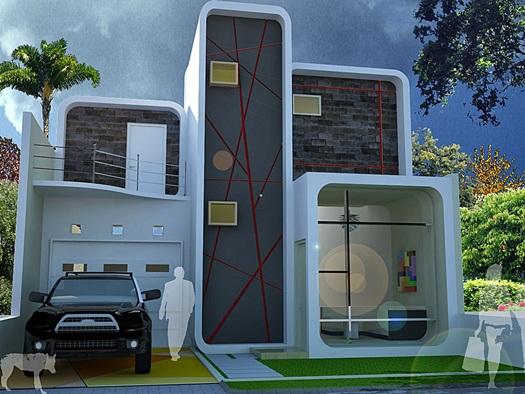 desain rumah minimalis modern 2 lantai - rumah interior lampung