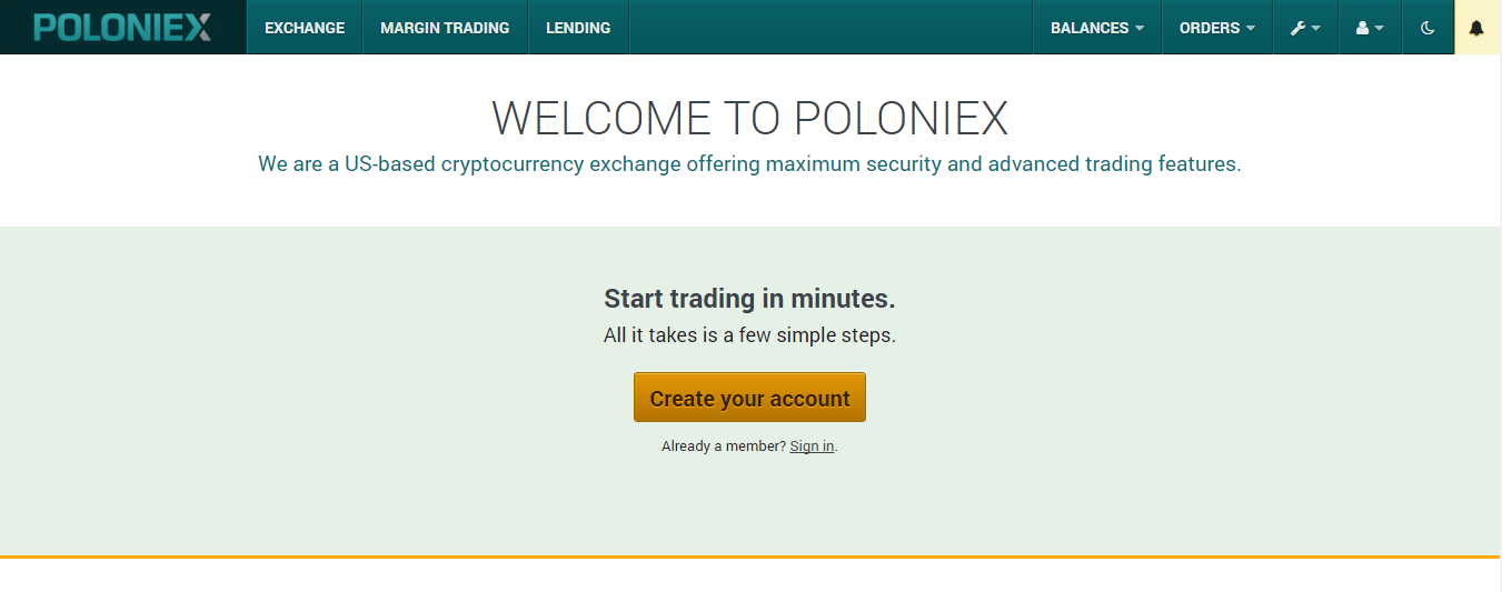 How To Add Funds On Poloniex How To Open Up A Crypto Exchange