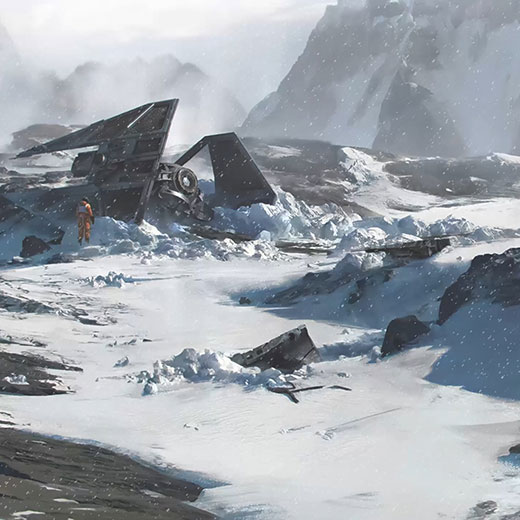Star Wars Hoth Wallpaper Engine