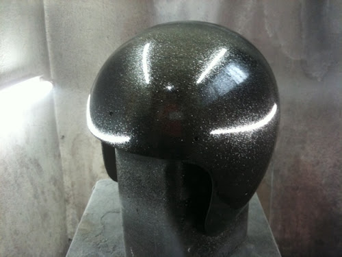 5 - カスタムペイント工程  BELL R-T