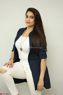 Manjusha in White Tight T Shirt and Black Jacket ~  Exclusive Celebrities Galleries 005.JPG