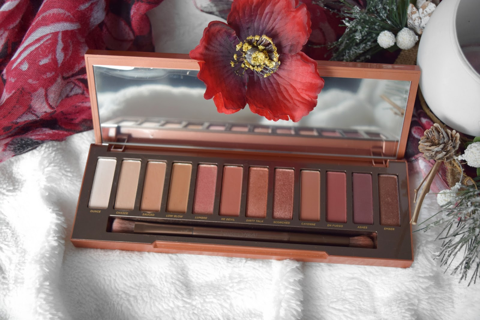 Urban Decay Naked Heat Eyeshadow Palette: Review and Swatches
