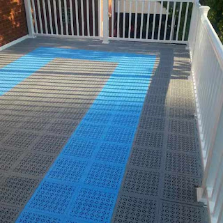 Greatmats Staylock Plastic Perforated Deck Tiles