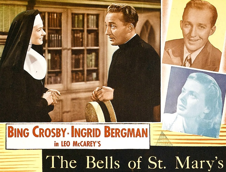 A Vintage Nerd, Old Hollywood Blog, Classic Film Blog, Movie Madness Monday, Film Recommendations, Religious Classic Films, Bing Crosby