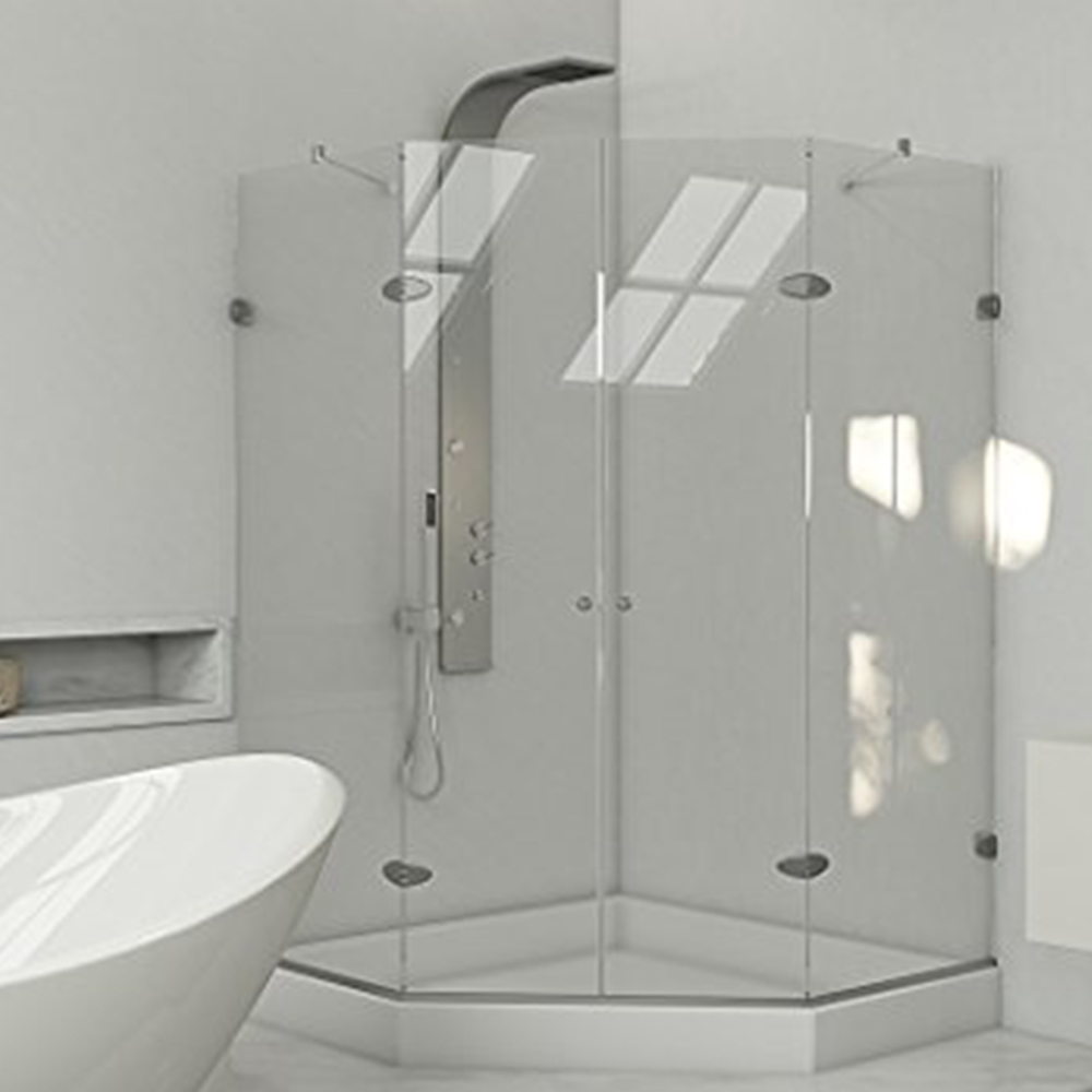 Shower Doors | Custom Glass and Mirror NYC