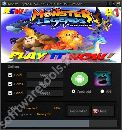 monster legends hack apk 5.5.1