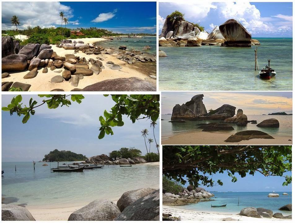 Tanjung Kelayang The Clean Beach..