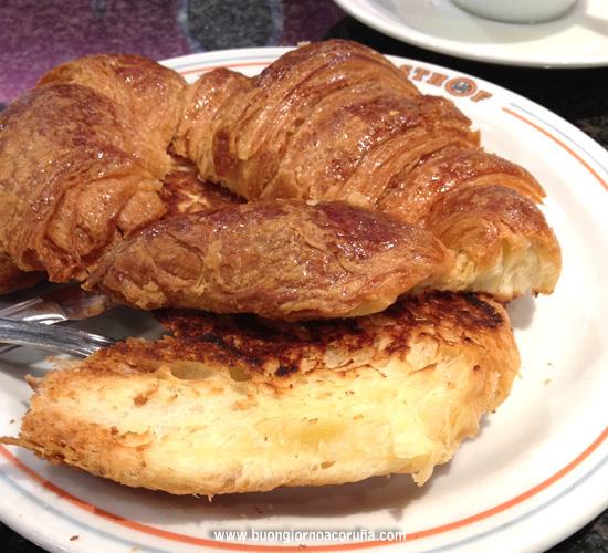 buongiorno A Coruña - 5 colazioni croissant a la plancha