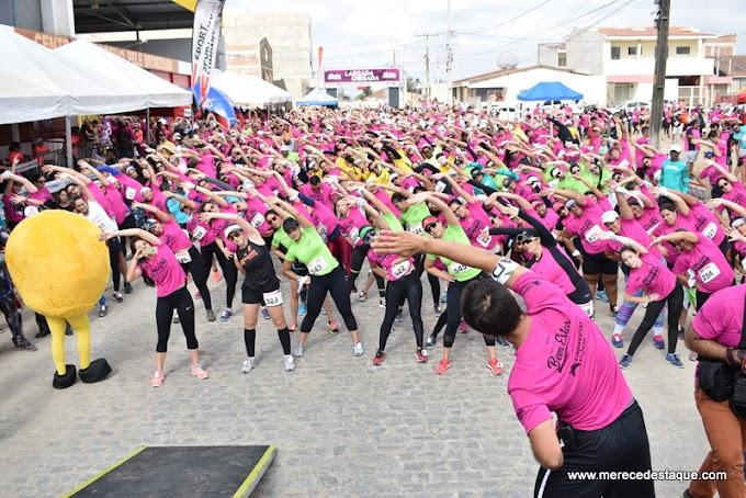 Bem Estar Running: evento reuniu cerca de mil corredores neste domingo (29), em Santa Cruz do Capibaribe