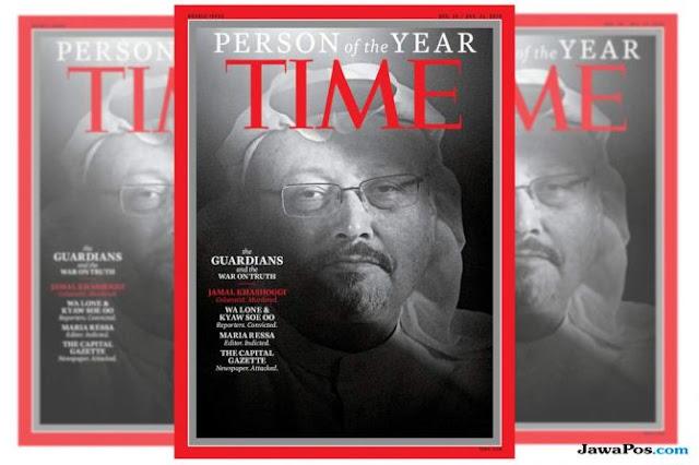 TIME Tunjuk 4 Orang Wartawan sebagai <i>Person of the Year</i>, Khashoggi Salah Satunya