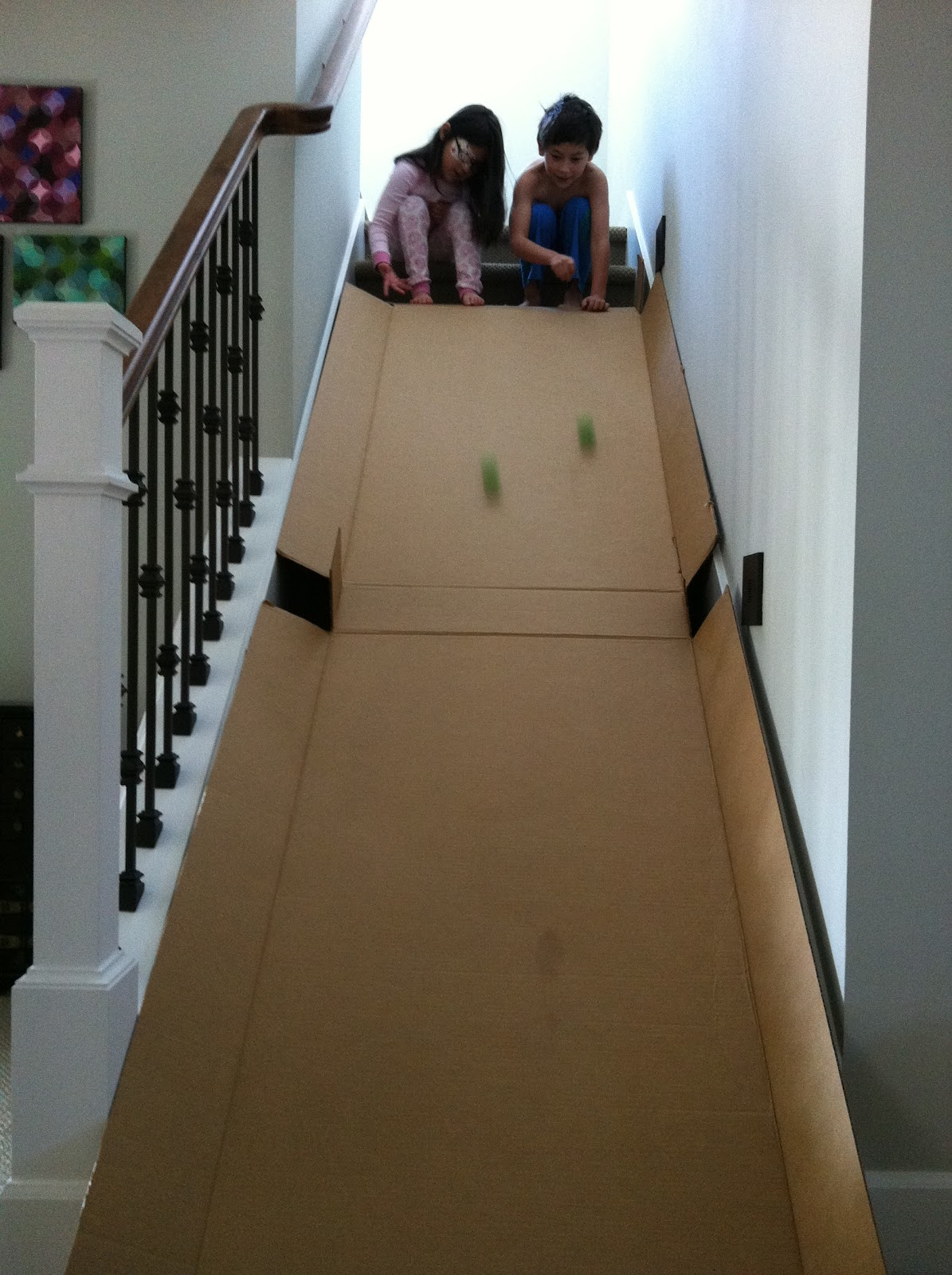 The Contemplative Creative Cardboard Slide