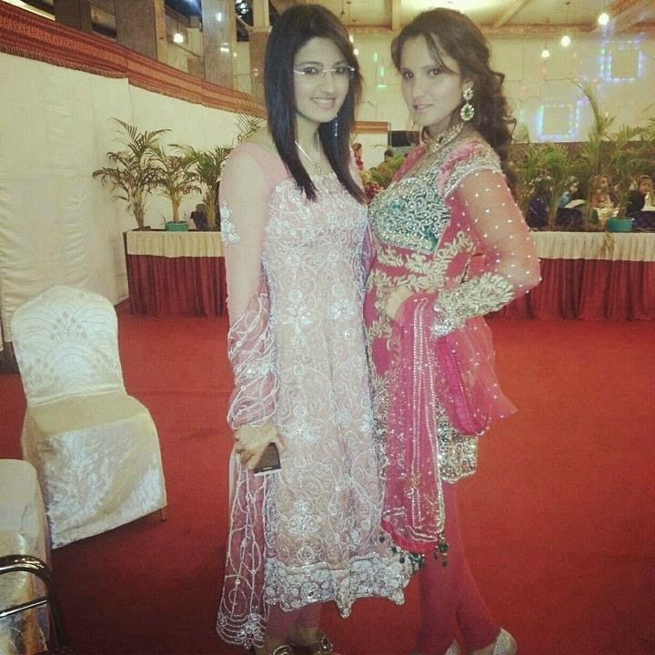 Sania Mirza Sisters Wedding Unseen Pictures B Amp G Fashion