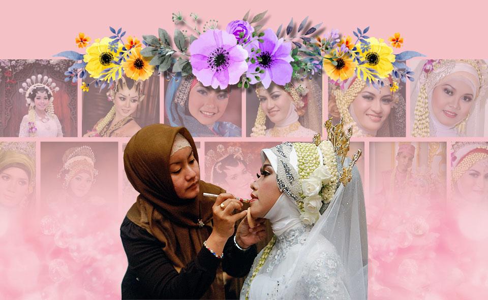 Jasa Rias Pengantin & Paket Resepsi Pernikahan. Rias Pengantin Tradisional & Rias Pengantin Muslim
