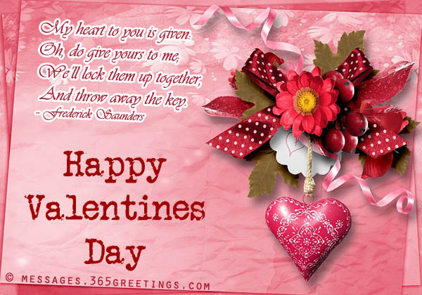 14th February SMS Valentines Day SMS Message & Text Be My Valentine